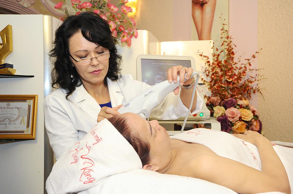 Thực hiện căng da mặt với Ultherapy tại thẩm mỹ Hồng Kông, 51 Hàng Gà, bạn được gì?