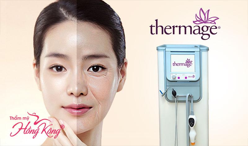 Công nghệ Thermage giúp chị em giải quyết mọi vấn đề lão hóa da