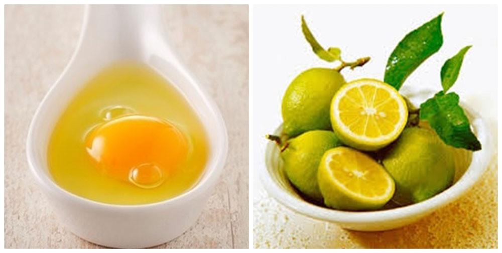 Trẻ hóa da với trứng gà và chanh