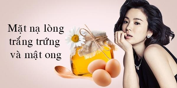 Mặt nạ mật ong và lòng trắng trứng là bí quyết căng da mặt của diễn viên xinh đẹp Song Hye Kyo