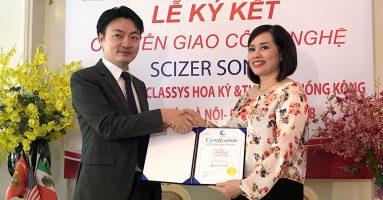 Thẩm mỹ Hồng Kông nhận chuyển giao độc quyền công nghệ giảm béo Scizer Sonic