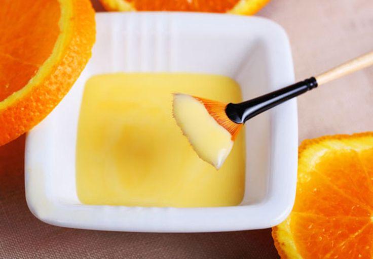 """""""Đánh bay"""" mụn trên trán nhờ hỗn hợp vỏ cam + sữa tươi + mật ong"""