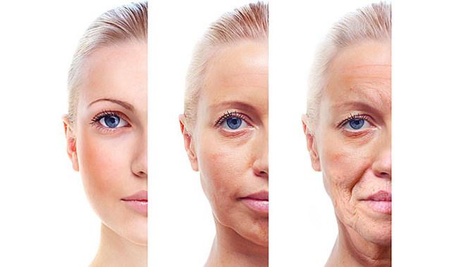 Khi cơ thể già đi, làn da theo đó cũng bị chảy xệ, chùng nhão theo