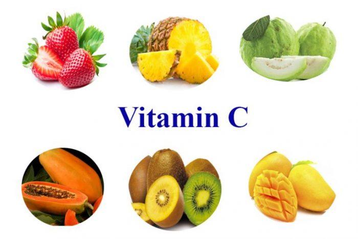 Nên bổ sung các thực phẩm giàu vitamin C để khắc phục tình trạng lão hóa da
