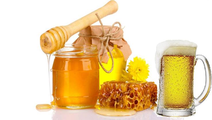 Mặt nạ trị mụn bằng bia và mật ong