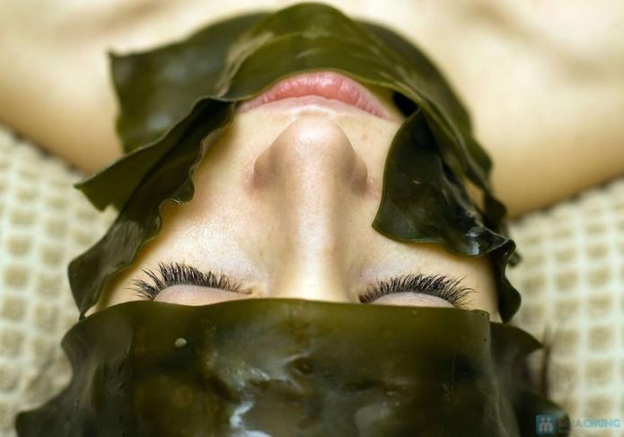 Dùng rong biển trị mụn là phương pháp được rất nhiều phụ nữ Nhật Bản yêu thích