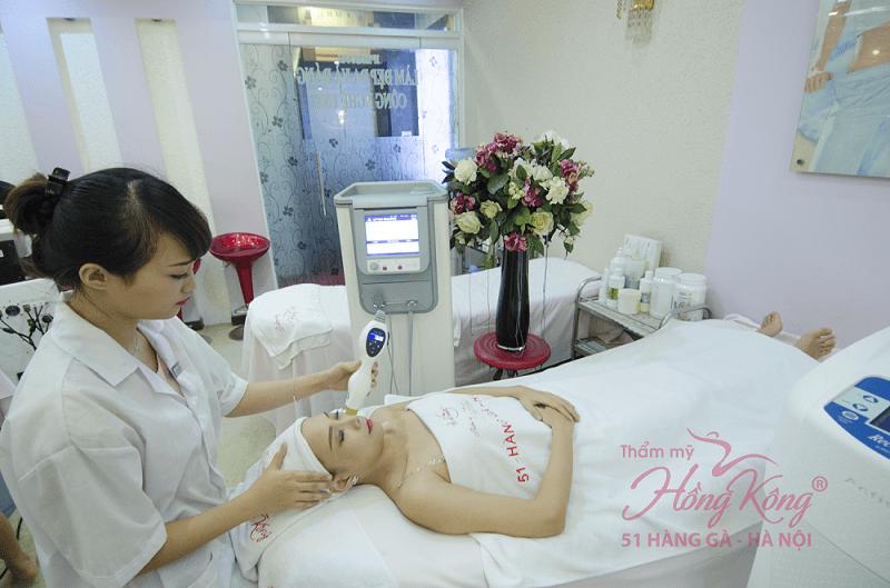 Căng da mặt bằng công nghệ Thermage tại Thẩm mỹ Hồng Kông được rất nhiều khách hàng tin tưởng và lựa chọn