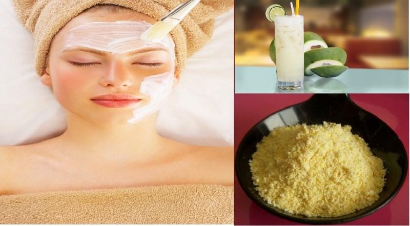 Sự kết hợp hoàn hảo giữa bột ngô và nước ép bưởi sẽ mang đến cho bạn làn da căng mọng, bóng và mướt mịn.