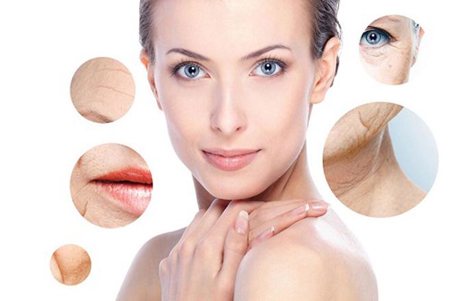 Bước vào độ tuổi trung niên, làn da bắt đầu biểu hiện rõ nét hơn các dấu hiệu lão hóa