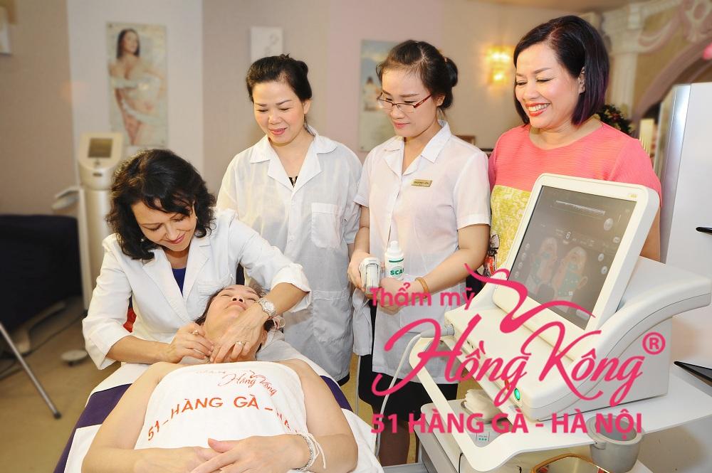 Trẻ hóa da bằng công nghệ Ultherapy được nhiều khách hàng tin chọn