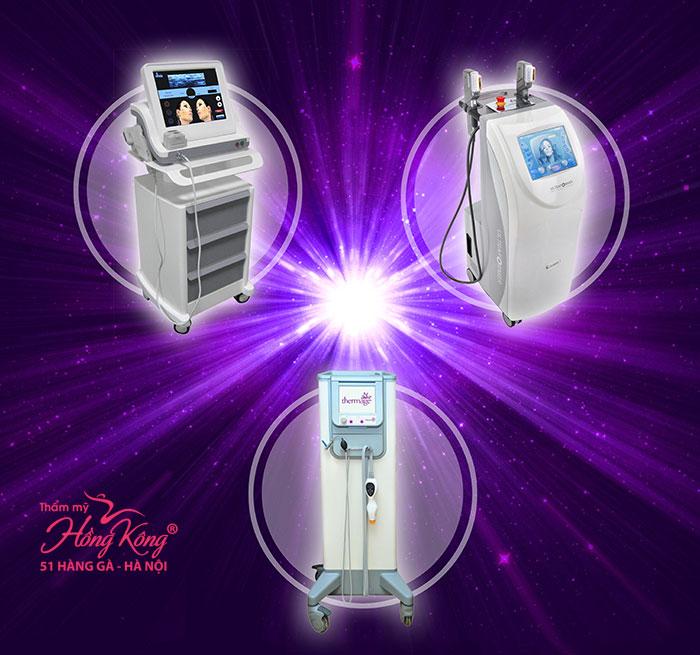 3 công nghệ trẻ hóa da không phẫu thuật 1 lần duy nhất được ưa chuộng nhất hiện nay đó là: Thermage, HIFU Ultraformer và Ultherapy