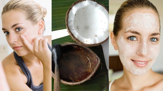 Dầu dừa có chứa các chất phytostrol, phenol, vitamin E nên có khả năng trẻ hoá da hiệu quả