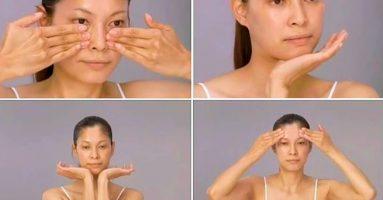 Sử dụng cách mát xa trẻ hóa da mặt này, bạn sẽ mãi mãi không già