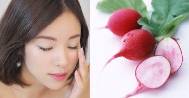 Trẻ hóa da mặt tại nhà hiệu quả bất ngờ với 2 loại củ cải