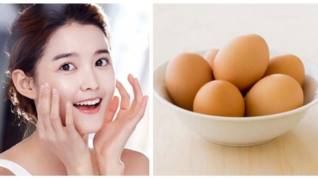 Trứng gà là một trong những nguyên liệu tự nhiên được rất nhiều chị em tin tưởng lựa chọn để trẻ hóa da