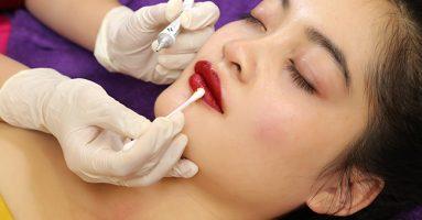 Phun xăm môi có đau không? Địa chỉ uy tín phun môi tại Hà Nội